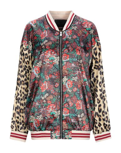 MAISON SCOTCH Bomber in Red