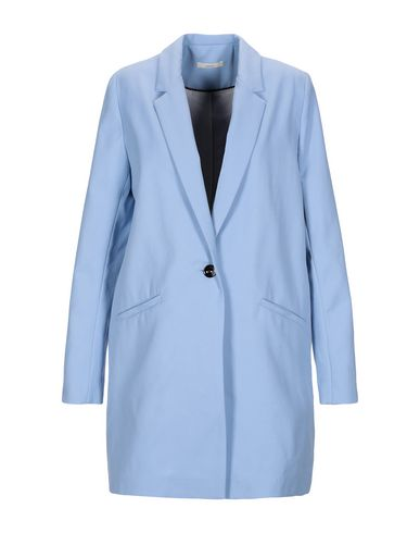 SESSUN Full-Length Jacket in Sky Blue
