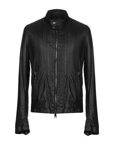 DACUTE Leather Jacket in Black