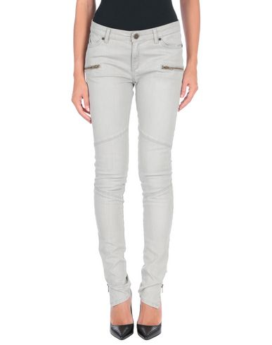 SUPERFINE Denim Pants in Light Grey