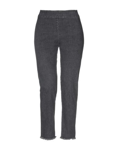 AVENUE MONTAIGNE Denim Pants in Steel Grey