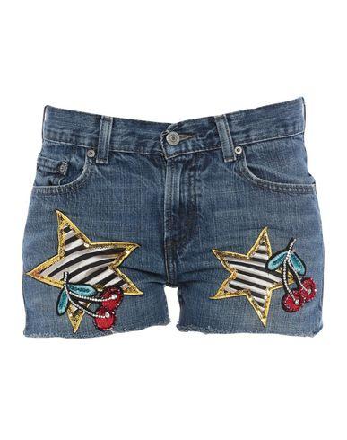 5 PROGRESS Denim Shorts in Blue