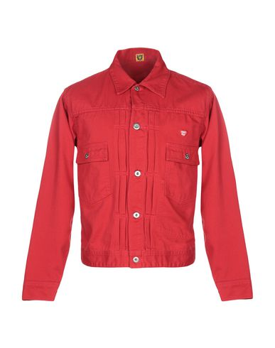 HUMAN MADE Denim Jacket in Red