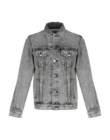 KITSUNÉ Denim Jacket in Lead