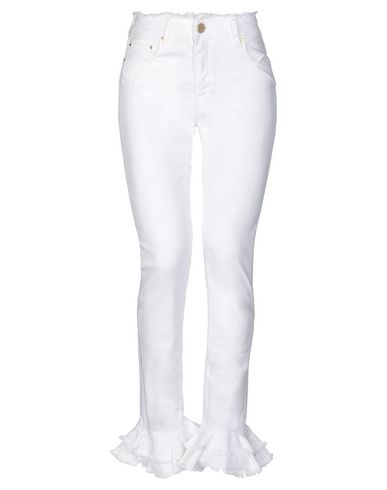 DON'T CRY Denim Pants in White