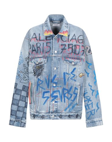 Balenciaga Jackets DENIM JACKET