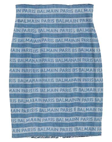 Balmain Skirts DENIM SKIRT