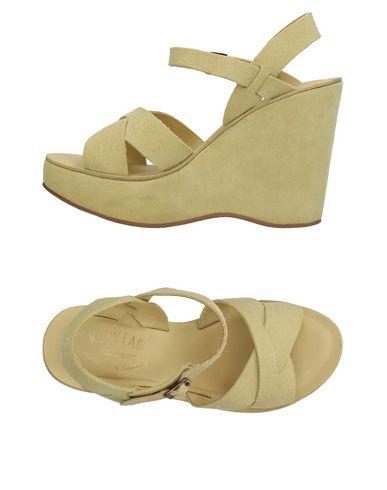 KORK-EASE Sandals in Light Green
