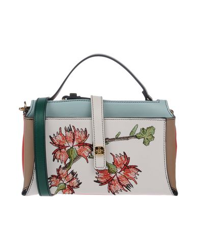 GIANCARLO PETRIGLIA Handbag in White