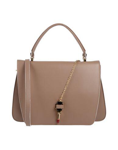GIANCARLO PETRIGLIA Handbag in Light Brown