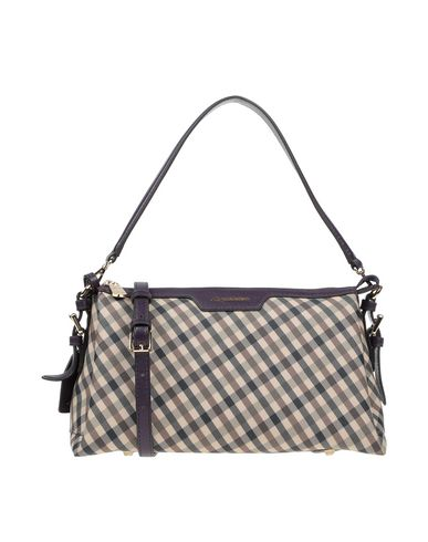 AQUASCUTUM Handbag in Purple