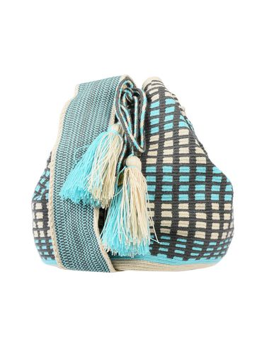 GUANABANA Cross-Body Bags in Turquoise