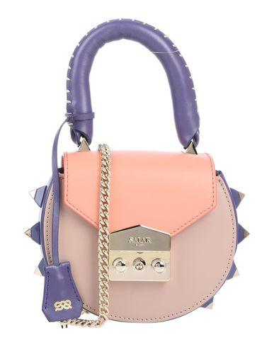 Shop Salar Handbag In Pale Pink 54a59d6954687