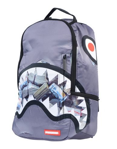 SPRAYGROUND Backpack & Fanny Pack in Lead