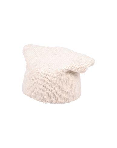 ARAN CASHMERE Hat in Ivory