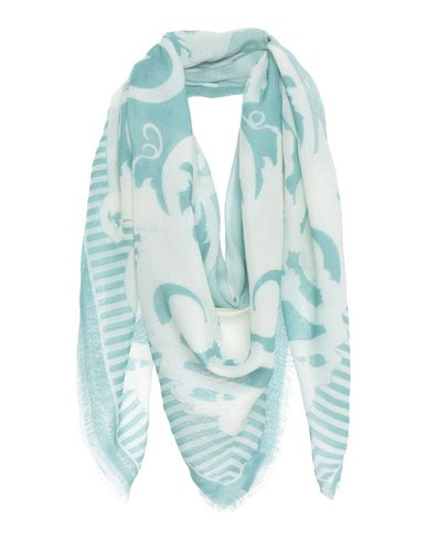 JONATHAN SAUNDERS Square Scarf in Light Green