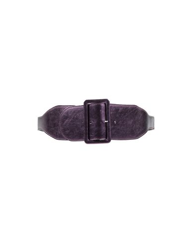 LISA C BIJOUX High-Waist Belt in Deep Purple