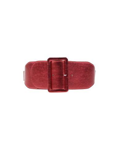 LISA C BIJOUX High-Waist Belt in Red