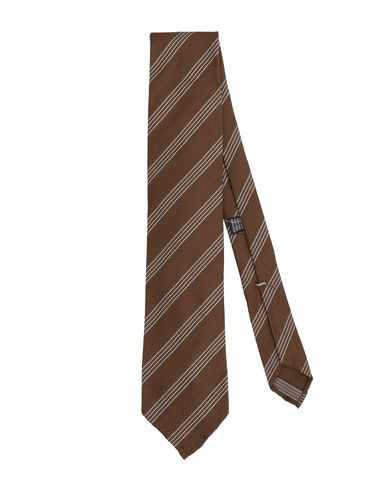CESARE ATTOLINI Tie in Brown