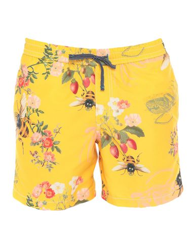 RIZ BOARDSHORTS Swim Shorts in Ocher