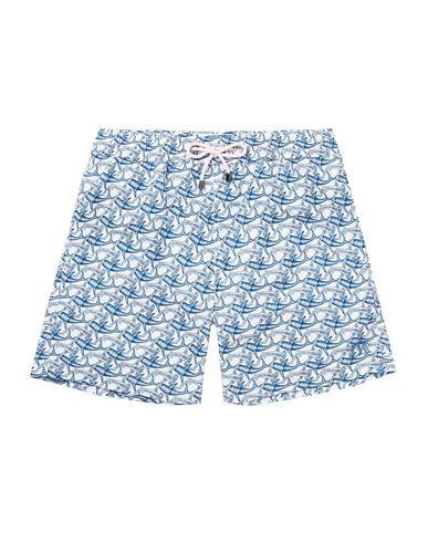PINK HOUSE MUSTIQUE Swim Shorts in Blue