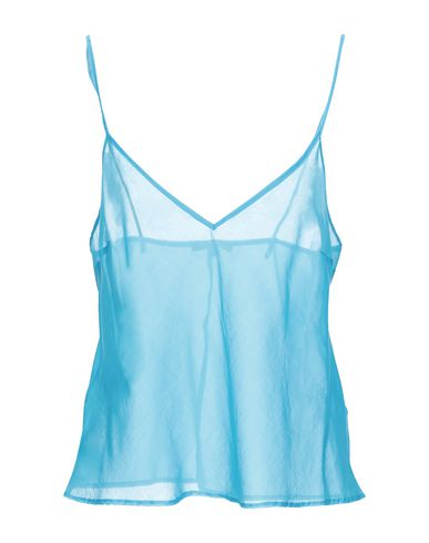 ERMANNO SCERVINO LINGERIE Tank Top in Turquoise