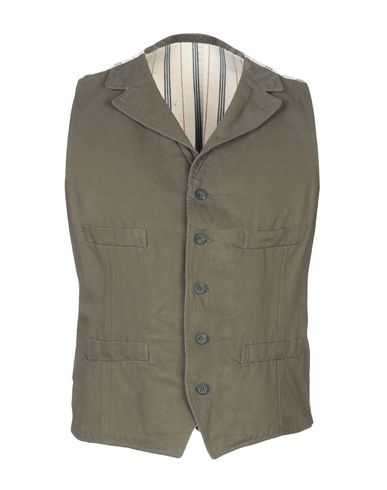 WOOSTER + LARDINI Suit Vest in Military Green