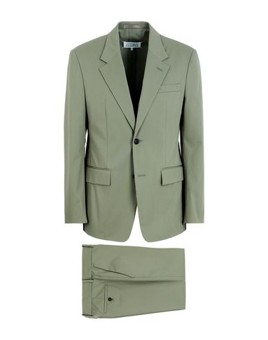 Maison Margiela Suits In Light Green